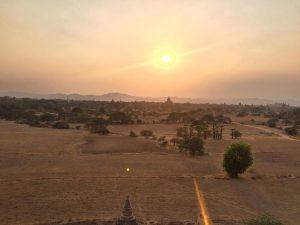 #sunset #bagan #myanmar