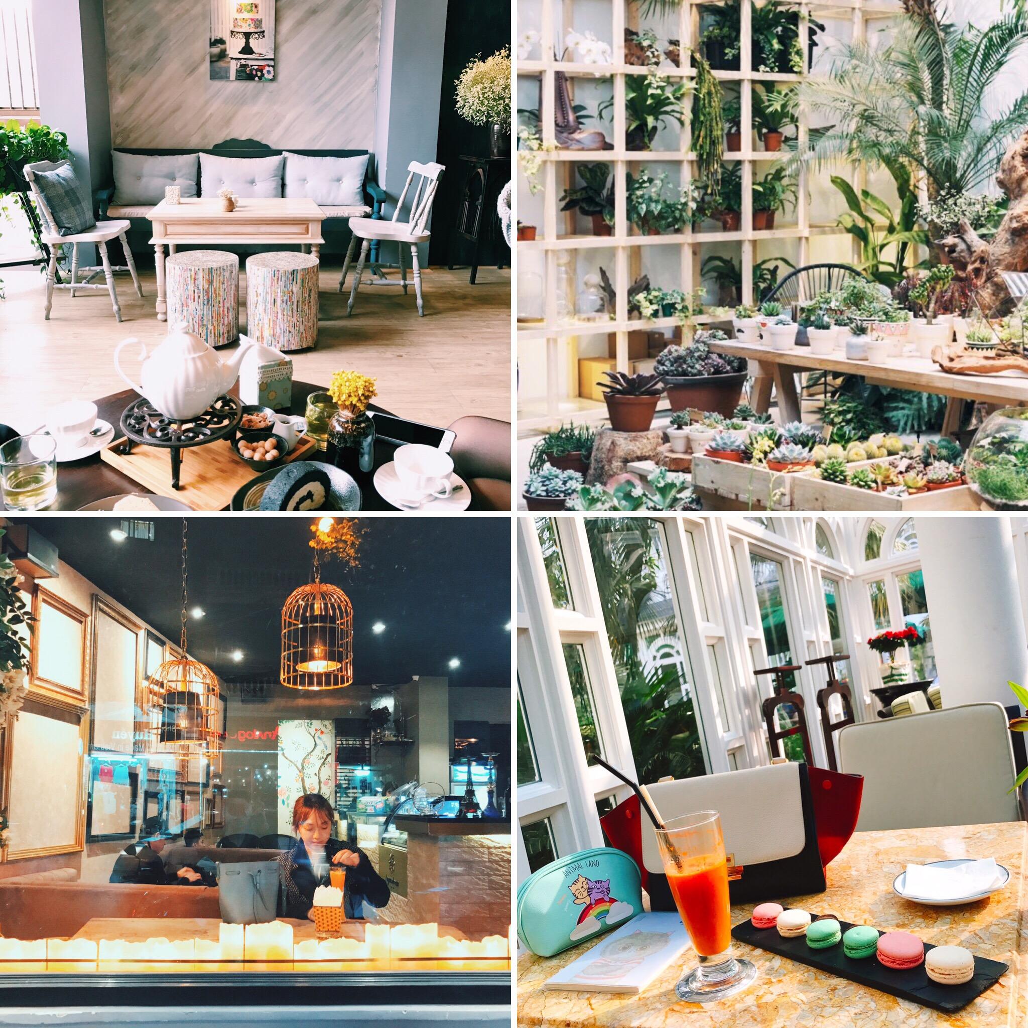 Coffee shop xinh xinh ở Hà Nội