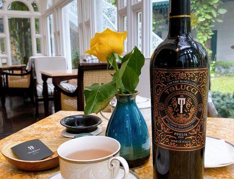Rượu vang & Trà